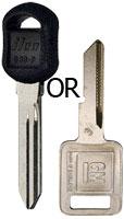 GM Older Basic Keys